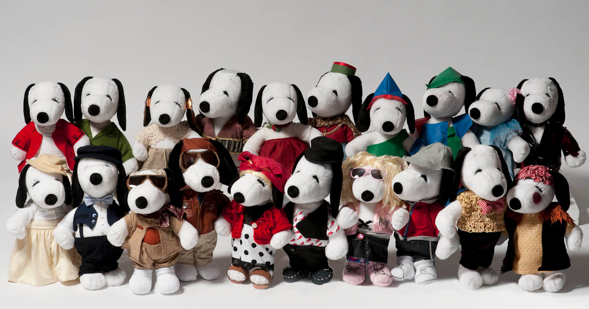 peanuts Snoopy&Belle in fashion