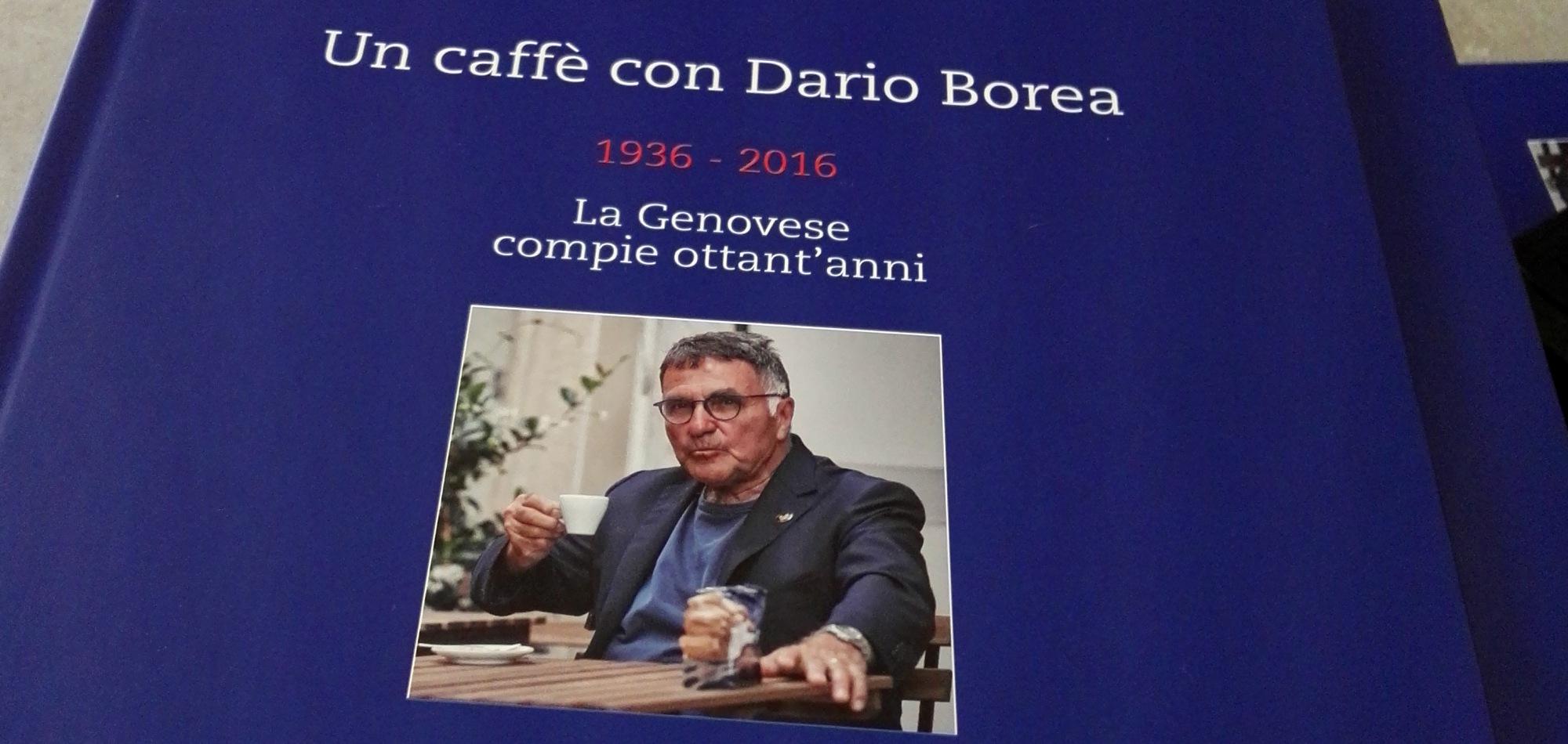 Libro La Genovese Un caffè con Dario Borea
