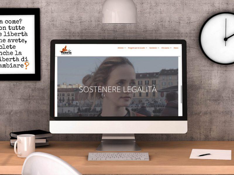 comunicare legalità. Il sito di Associazione Valeria