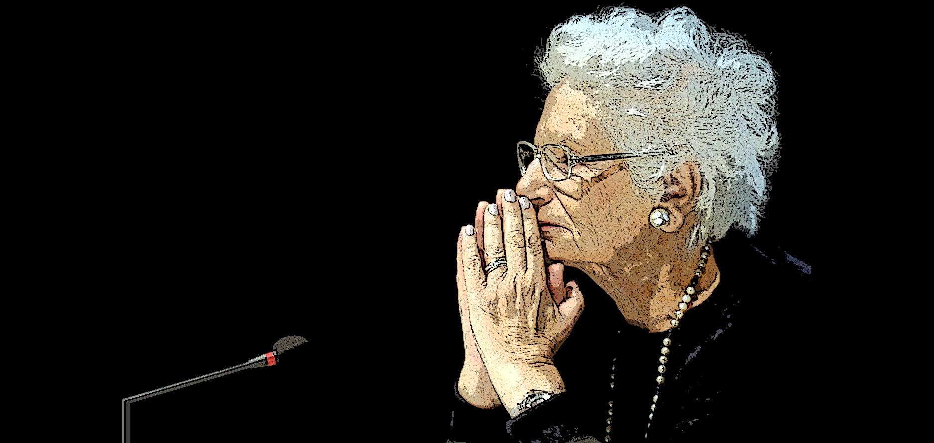 Liliana Segre - #vediallavoce lasciare